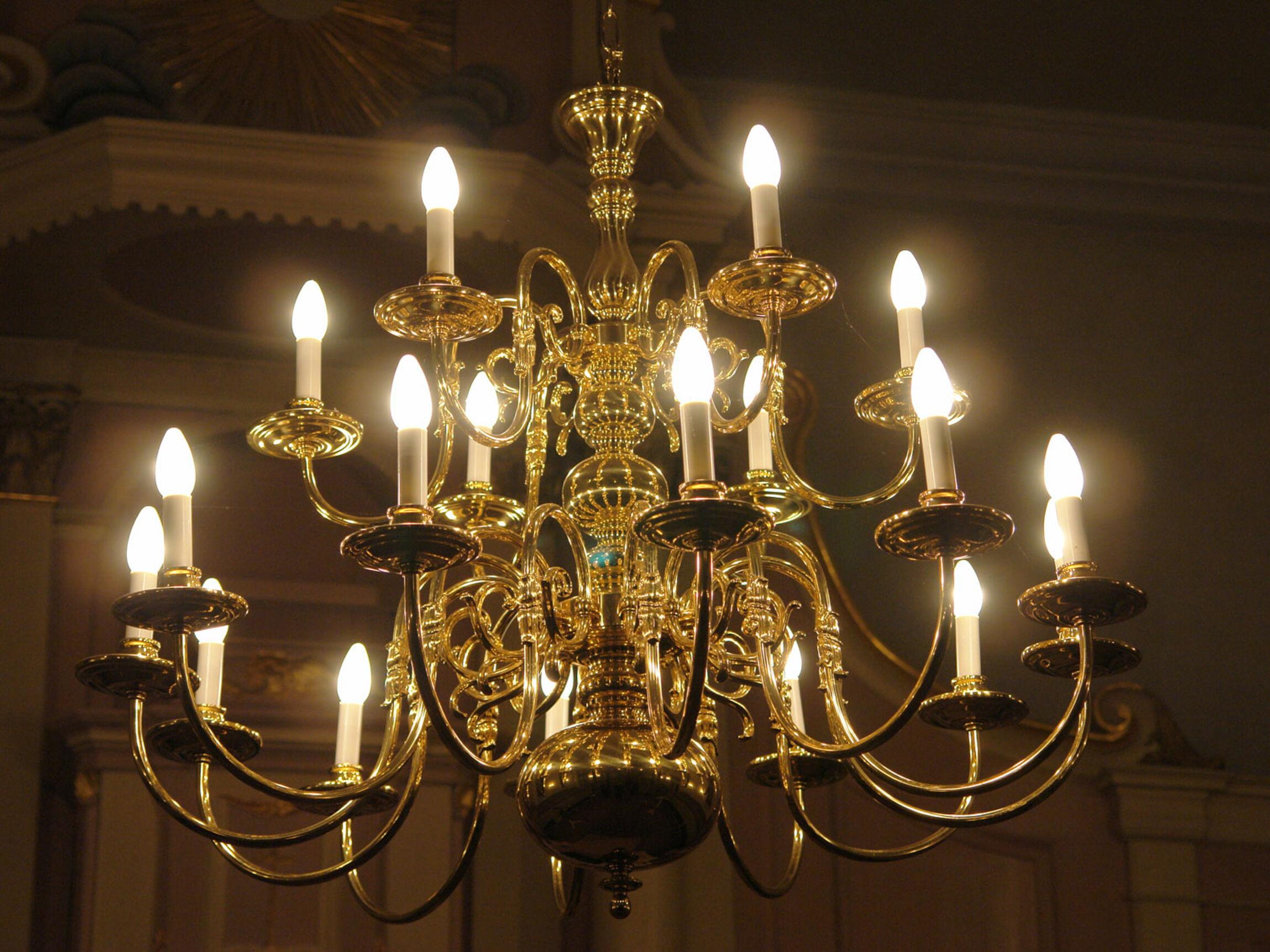 Bild Mit Kronleuchter ~ Casa padrino barock kristall kronleuchter lüster flammig beige